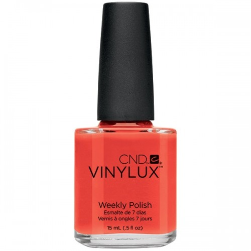 CND Vinylux Electric Orange 15ml Hover