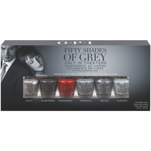 OPI 50 Shades of Grey Mini Gift Set (6 x 3.75ml)