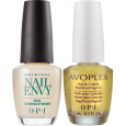 OPI Nail Envy Original 15ml & OPI Avoplex Cuticle Oil 15ml Combo Deal